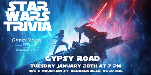Star Wars Trivia at Gypsy Road