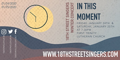 In This Moment: 18th Street Singers Winter Concert tickets