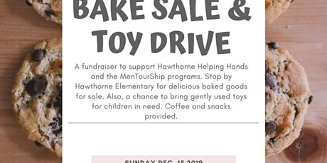 Holiday Bake sale and toy drive tickets