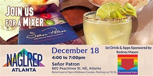 NAGLREP Atlanta Holiday Mixer December 18