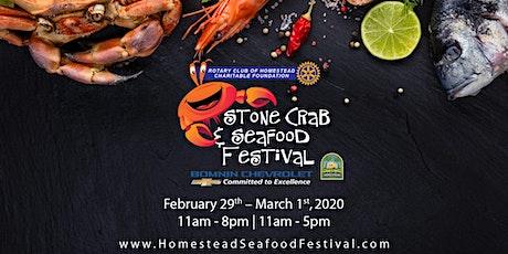 Homestead Seafood Festival tickets