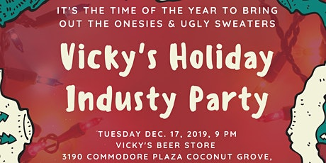 Vicky's House Holiday Industry Party tickets