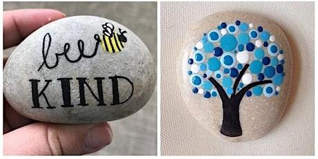 Creatief atelier -- Stone art tickets