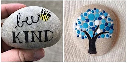 Creatief atelier -- Stone art