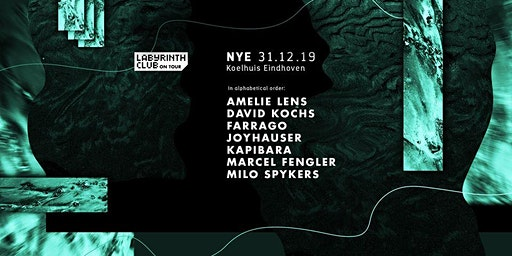 NYE with Amelie Lens at Koelhuis Eindhoven