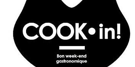 Cook-in ! vendredi 13 décembre - vente au profit de Ethic Océan billets