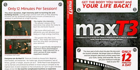 Max T3 HIIT Fitness Class tickets