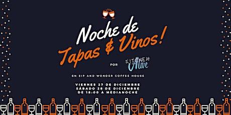 POP-UP: Noche de Tapas & Vinos entradas