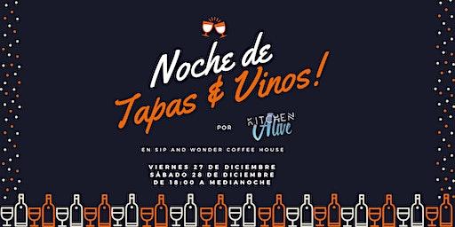 POP-UP: Noche de Tapas & Vinos
