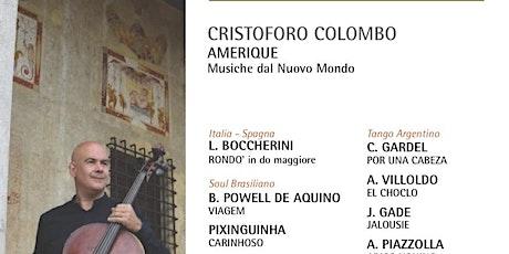Exodus Musica in cammino   CRISTOFORO COLOMBO  AMERIQUE biglietti