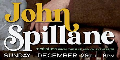 John Spillane tickets