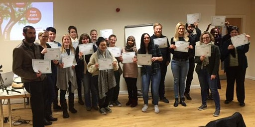 ASIST suicide intervention training, Lincoln by Mary Anne Crook, Intervention Skills Training, working with Marion Willers