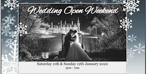 Wedding Open Weekend