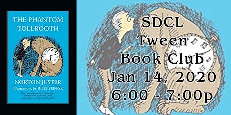 Tween Book Club: January tickets