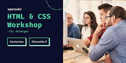 HTML & CSS Workshop –für Anfänger in Düsseldorf (letzter Termin in 2019)