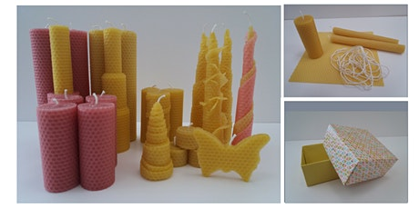 Beeswax Sheet Candle Making Workshop tickets