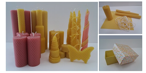Beeswax Sheet Candle Making Workshop