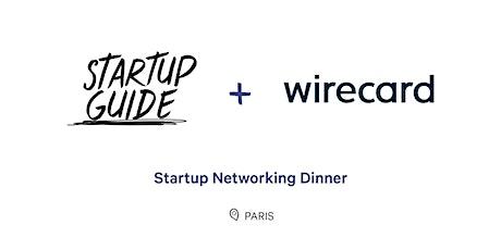 Startup Networking Dinner tickets