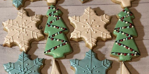 Holiday Cookie Decorating & Wine Night