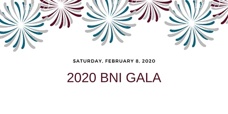 2020 BNI GALA tickets