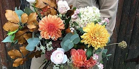 Floral Design:  Garden Style Hand-Tied Bouquet tickets