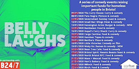 Belly Laughs with Bristol24/7 The Kensington Arms: Burger & Comedy tickets