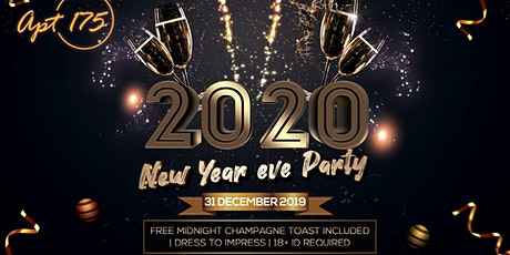 2020  - NEW YEAR'S EVE PARTY - APT 175 tickets