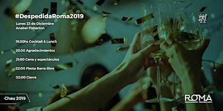 Despedida de año ROMA Management 2019 entradas