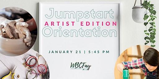 Jumpstart Orientation: Artist Edition