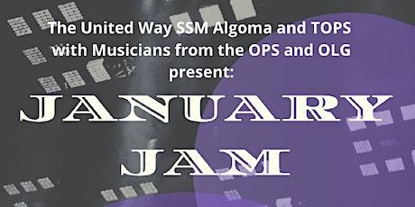 January JAM for United Way SSM tickets