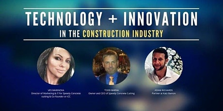 Technology + Innovation In The Construction Industry tickets