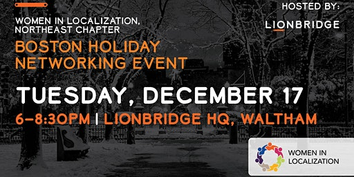 WLNE: Boston Area Holiday Networking Event
