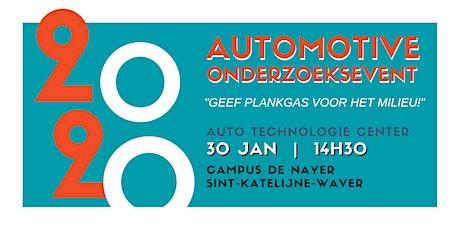 Automotive Onderzoeksevent 30 januari 2020 tickets
