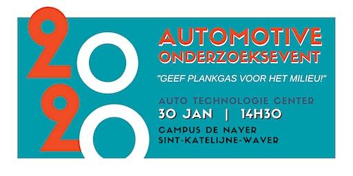 Automotive Onderzoeksevent 30 januari 2020