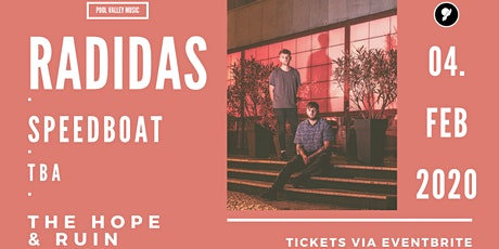 RADIDAS + Guests ~ The Hope & Ruin ~ 04/02/2020 tickets