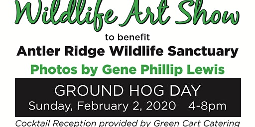 "Art Show  ""Dont be afraid of your Shadow""for Antler Ridge Wildlife Sanctuay"