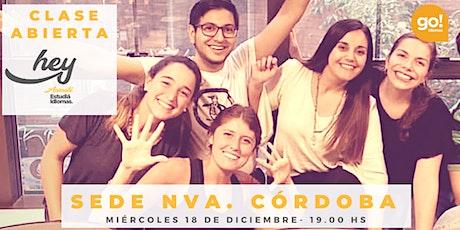 Clase Abierta Go! Idiomas - 18 Diciembre 2019_19:00hs entradas