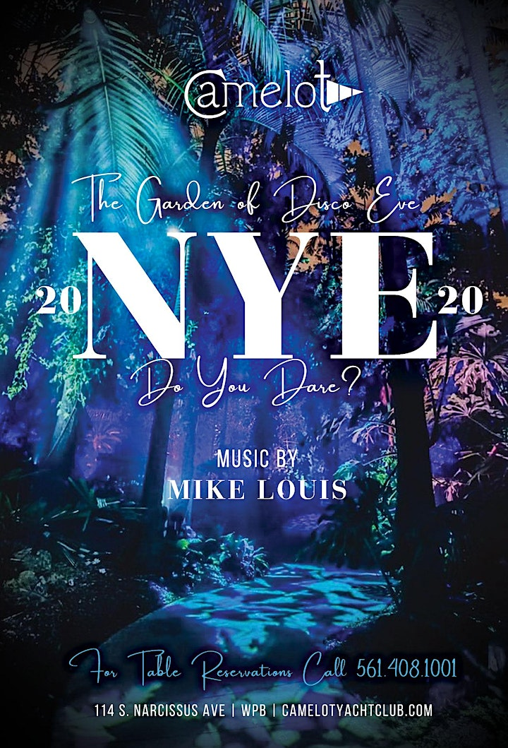Camelot New Years Eve NYE 2019-2020 image