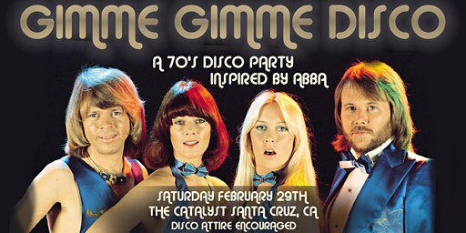 Gimmie Gimmie Disco - A 70's Disco Party Inspired by Abba