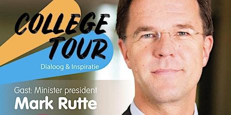 College Tour met Mark Rutte tickets