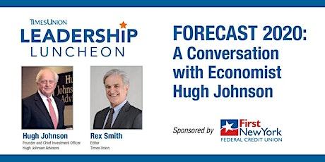 FORECAST 2020:  A Conversation with Economist Hugh Johnson tickets