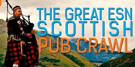 The Great Scottish Pub Crawl (in association with ESN) tickets