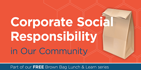 Corporate Social Responsibility in Our Community tickets