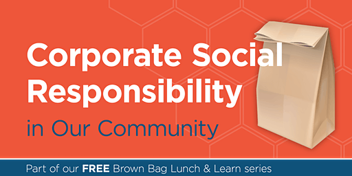 Corporate Social Responsibility in Our Community