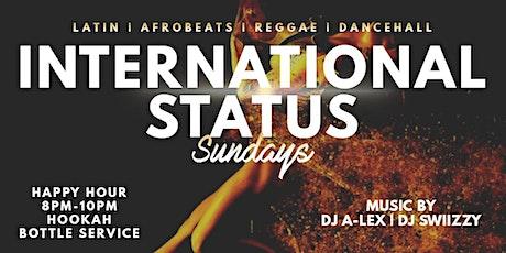 INTERNATIONAL STATUS SUNDAYS @1015 BAR & LOUNGE! tickets