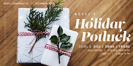 Novel's Holiday Potluck tickets