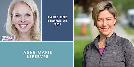 """""""Faire une femme de soi"""", Party de Noël avec Anne-Marie Lefebvre billets"""