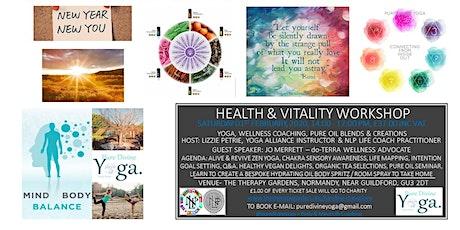 Yoga, Life Map Coaching & do-Terra Pure Oil Health & Vitality Workshop tickets