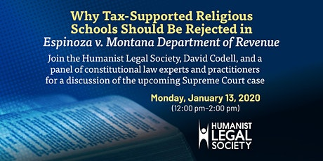 Why Tax Supported Religious Schools Should Be Rejected in Espinoza Case tickets
