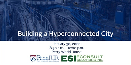 Building a Hyperconnected City tickets